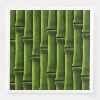 Green Bamboo Paper Napkins