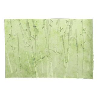 Green Bamboo Pillowcase