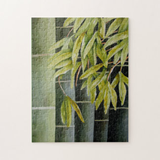 Green Bamboo Puzzle