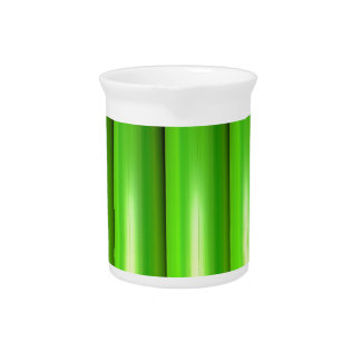 Green bamboo set drink pitcher