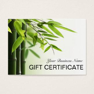 Green Bamboos Spa Skin Care Salon Gift Certificate