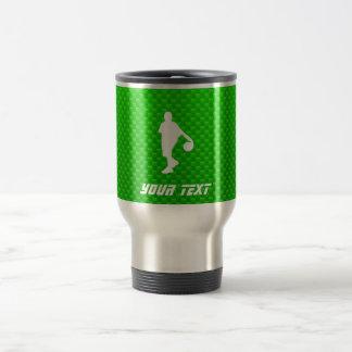 Green Basketball Mug