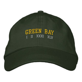 Green Bay Embroidered Hat