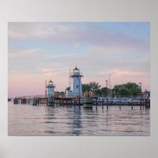 Green Bay Harbor Entrance Lighthouse Poster