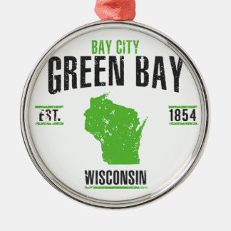 Green Bay Metal Ornament