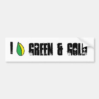 Green Bay Packer Bumper Sticker