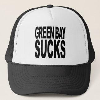 Green Bay Sucks Trucker Hat