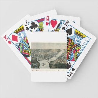 Green Bay Wisconsin 1867 Bicycle Playing Cards