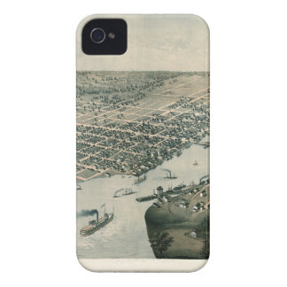 Green Bay Wisconsin 1867 iPhone 4 Case-Mate Case