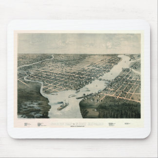 Green Bay Wisconsin 1867 Mouse Pad