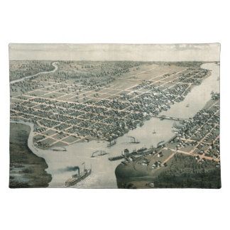 Green Bay Wisconsin 1867 Placemat