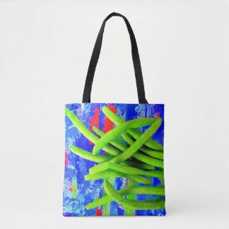 Green Bean Tote Bag