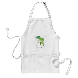 Green Beans Adult Apron