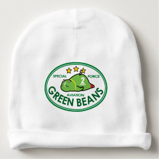 GREEN BEANS AVIATION BABY BEANIE