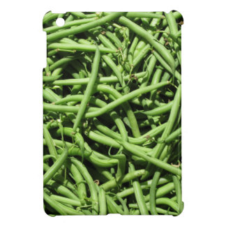 Green beans background case for the iPad mini