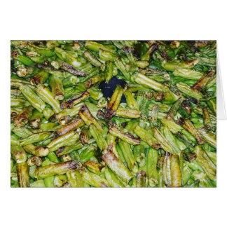 Green  Beans... Card
