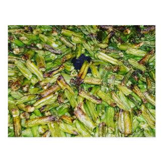 Green  Beans... Postcard