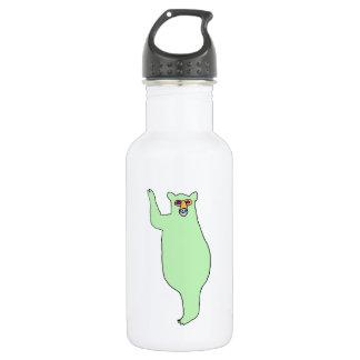 Green Bear Water Bottle