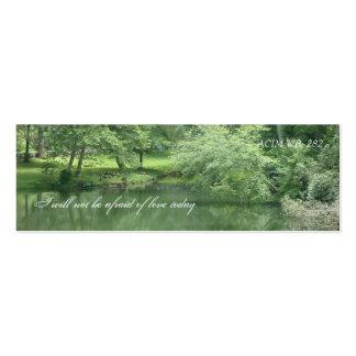 Green Beauty Business Card