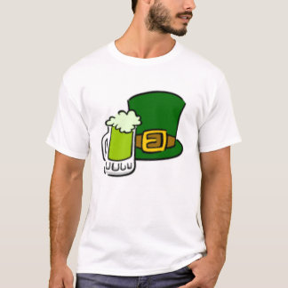 green beer and hat T-Shirt