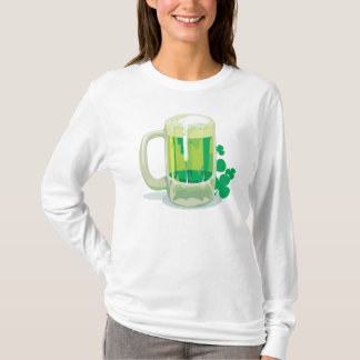 Green Beer and Shamrock T-Shirt