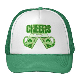 Green Beer Cheers Trucker Hat