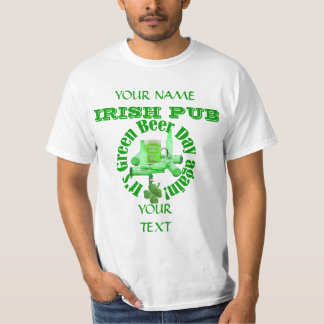 Green beer day  St Patrick's T-Shirt