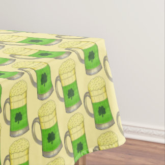 Green Beer Irish Shamrock St. Patrick's Day Tablecloth
