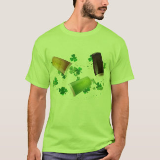 Green Beer & Shamrocks Tee