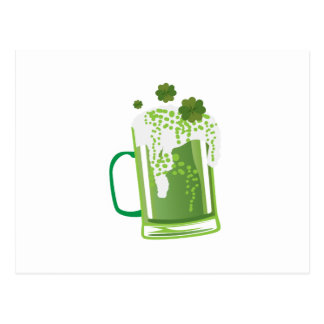 Green Beer St Patrick's Day Funny Postcard