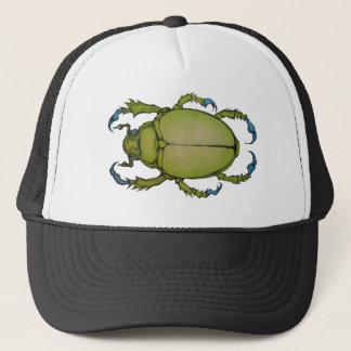 green beetle trucker hat