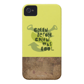 Green Before Green Was Cool Case-Mate iPhone 4 Cases