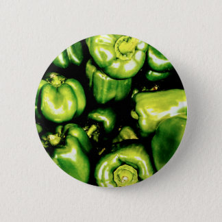 Green Bell Peppers 2 Inch Round Button