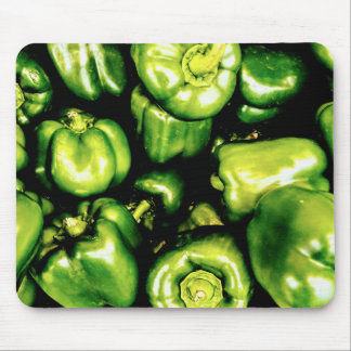 Green Bell Peppers Mouse Pad