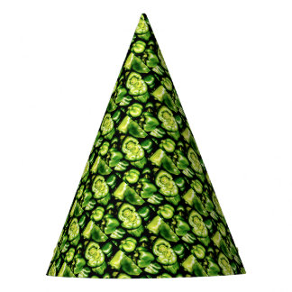 Green Bell Peppers Party Hat