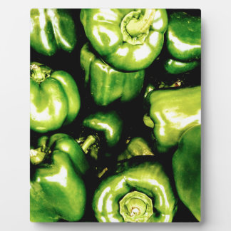 Green Bell Peppers Plaque