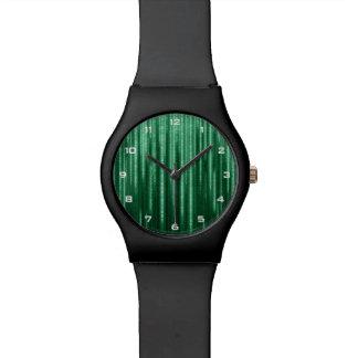 Green Binary Rain May28th Watch