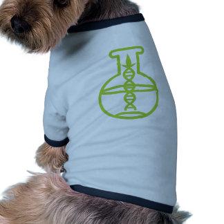 Green Biotech DNA Research Flask Pet T Shirt