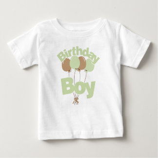 Green Birthday Boy Baby T-Shirt