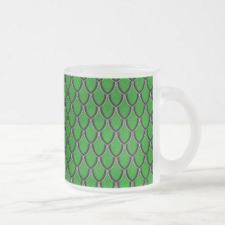 Green Black Dragon Scale Mug