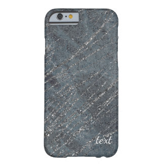 Green Black Grey Modern Marble Designer Chic Barely There iPhone 6 Case