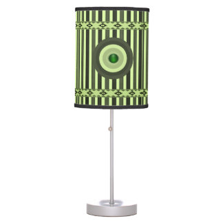green black stripped decorative lamp shade