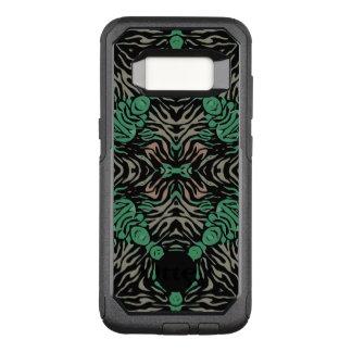 Green Black Zebra OtterBox Commuter Samsung Galaxy S8 Case