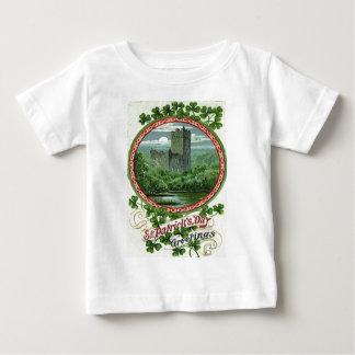 Green Blarney Castle Ireland Shamrock Baby T-Shirt