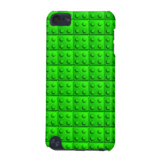 Green blocks pattern iPod touch (5th generation) case