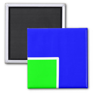 Green Blue 041 magnet