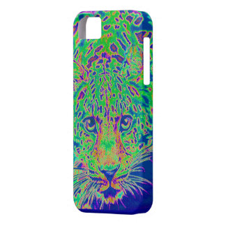 green, blue and purple leopard iphone 5 case