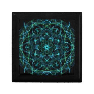 Green Blue Circle Gift Box