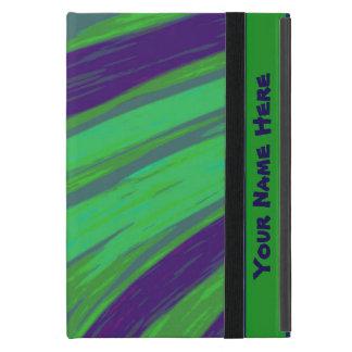 Green Blue Color Swish Cases For iPad Mini