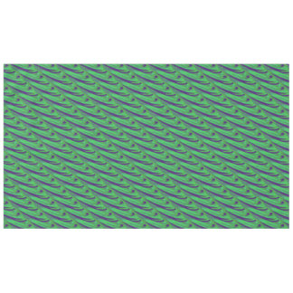 Green Blue Color Swish Tablecloth